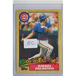 1987 Topps #634 Rafael Palmeiro RC