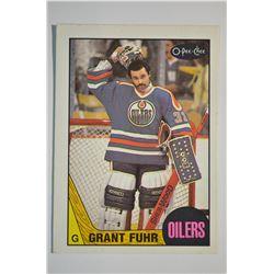1987-88 O-Pee-Chee #178 Grant Fuhr
