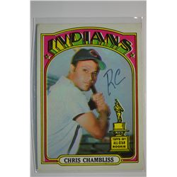1972 O-Pee-Chee #142 Chris Chambliss RC