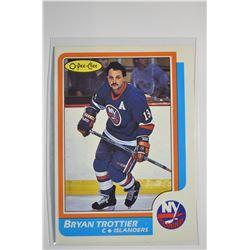 1986-87 O-Pee-Chee #155 Bryan Trottier