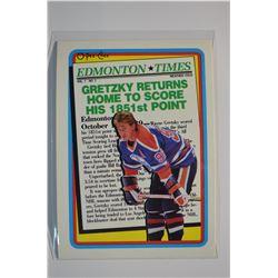 1990-91 O-Pee-Chee #2 Wayne Gretzky Oilers
