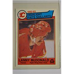 1983-84 O-Pee-Chee #75 Lanny McDonald HL