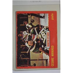 1973-74 O-Pee-Chee #127 Cesare Maniago