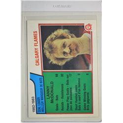 1983-84 O-Pee-Chee #74 Lanny McDonald SL