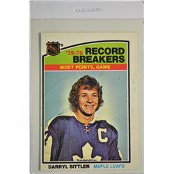 1976-77 O-Pee-Chee #66 Darryl Sittler RB