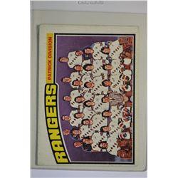 1976-77 O-Pee-Chee #143 Rangers Team