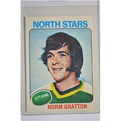 1975-76 O-Pee-Chee #34 Norm Gratton