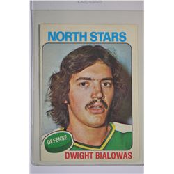 1975-76 O-Pee-Chee #106 Dwight Bialowas