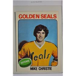 1975-76 O-Pee-Chee #366 Mike Christie