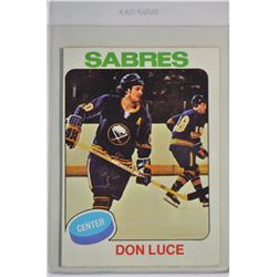1975-76 O-Pee-Chee #113 Don Luce