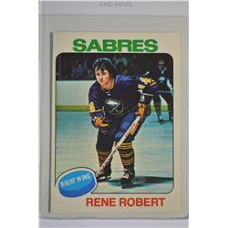 1975-76 O-Pee-Chee #46 Rene Robert