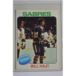 1975-76 O-Pee-Chee #233 Bill Hajt RC
