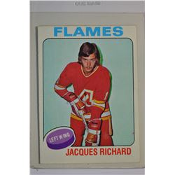 1975-76 O-Pee-Chee #117 Jacques Richard