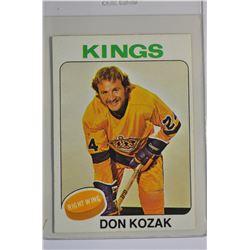 1975-76 O-Pee-Chee #276 Don Kozak