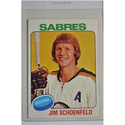 1975-76 O-Pee-Chee #138 Jim Schoenfeld