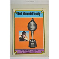 1974-75 O-Pee-Chee #244 Phil Esposito Hart