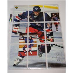 1999 UD Gretzky Cards