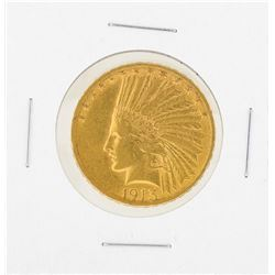 1913S Date $10 Indian Head Gold Coin XF