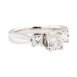 1.50 ctw Diamond Ring - Platinum