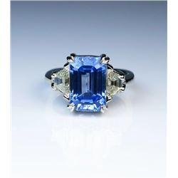 19CAI-3 SAPPHIRE  DIAMOND RING