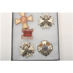 19CC-3  RUSSIAN IMPERIAL BADGES