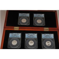 18RE-4 5 COIN SET