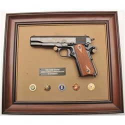 19AW-30 JOHN WAYNE ARMED FORCES PLAQUE