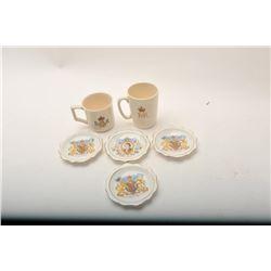 19AI-5 CORONATION CUP  PLATES