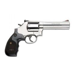 "S& W 686 PLUS DLX 5"" 357MG STS 7RD WD"