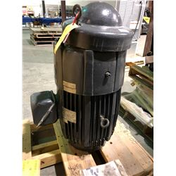 US brand 40 hp 3 phase, 575 volt unused Industrial motor on pallet