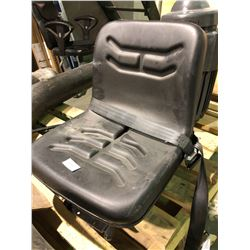 Driftech implement seat, fully adjustable - unused