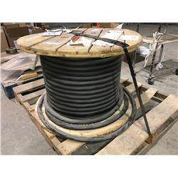 Approx 100 metre spool of 2000 volt 90 degree electrical trailing cable