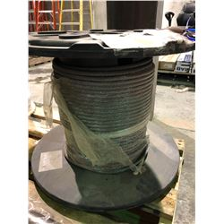 "Spool of unused 46 metre 1/2"" wire rope for Konecranes"