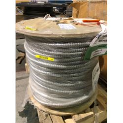 Spool of unused isolated ground armoured cable - 150 metres
