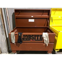 Brown Delta jobsite box