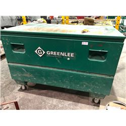 Greenlee Mobile jobsite locking toolbox