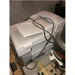 Minolta multi use photocopier, Lexmark photocopier, HP portable photocopier, stereo, HP laserjet cop