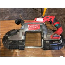 2 Milwaukee brushless chargeable deep cut band saws