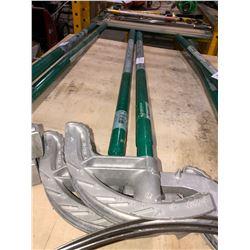 2 Greenlee pipe benders