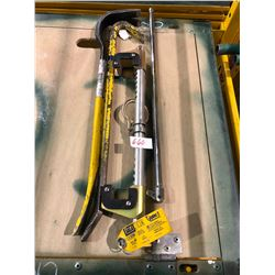 Glyder 2 sliding beam anchor, Long wrench, 2 HD goose necks