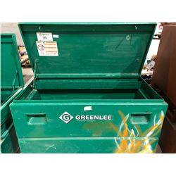 Greenlee mobile locking jobsite tool box