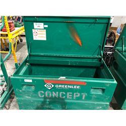 Greenlee 2448 locking jobsite box