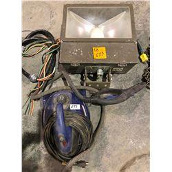 Large commercial 400 watt yard light (Appleton flood light) with Simonez vacuum