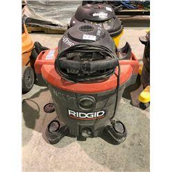 Ridgid commercial shop vac & 2.5 HP Ind shop vac