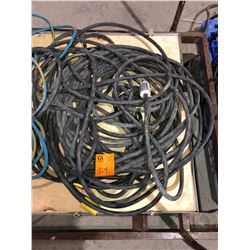 Large lot 100 plus feet commercial grade extension cords