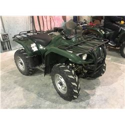 Yamaha Quad 350 approx 2009 to 2011