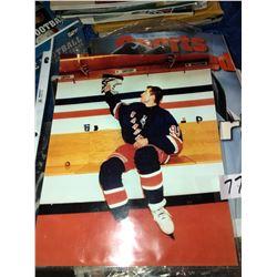 Over 3000 trading cards from baseball, hockey, NFL football from 1980s to 2000s.  Many special editi
