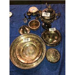 Various vintage pieces of silverware (fancy)