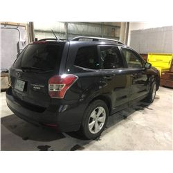 2015 Subaru Forester Sask Unit, 120,000 klms, auto, heated seats, very clean, pzev model
