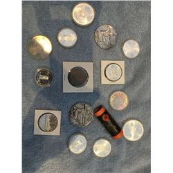 Various collector coins & Medallions